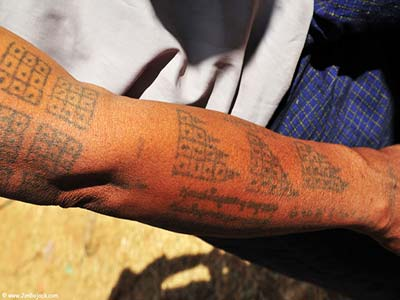 Traditional Tattoos In Myanmar Are All The Rage The Guardian