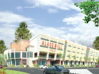 The proposed Alade Mall, Ikeja, Lagos