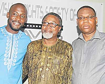 Ali-Balogun (middle) at a recent stakeholders' meeting
