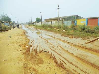 Ayobo-Ishefun Road