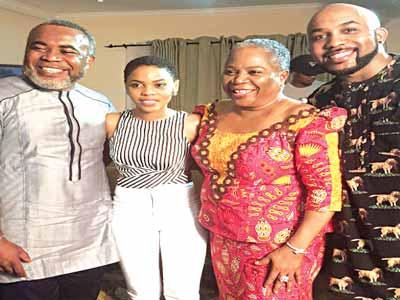 Zack Orji, Chidinma Ekile, Onyeka Onwenu, and Banky W