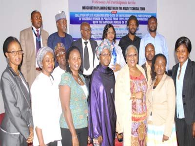 A cross section of committee members