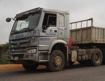 Dangote-truck