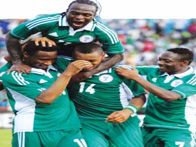 Victor Moses, Mikel Obi, Ahmed Musa and others celebrate victory for Super Eagles. Henry Nwosu says Coach Sunday Oliseh got everything wrong.