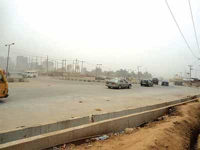 The reconstructed roadPHOTO: Ikechukwu Onyewuchi
