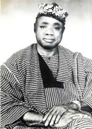 D.O Fagunwa, the author of Ogboju Ode, an author of the Yoruba-languagenovel