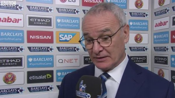Ranieri PHOTO: BBC