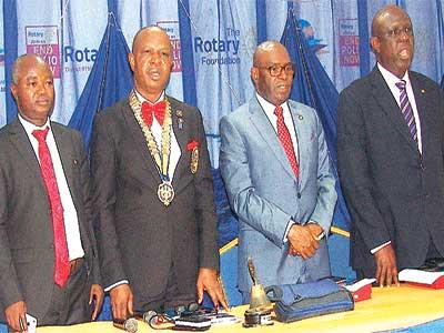 Adepoju (left), Onabadejo, Raji and Owolabi PHOTO: ISAAC TAIWO