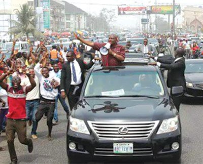 Gov. Wike jubilates his election victory          www.naijaonpoint.com