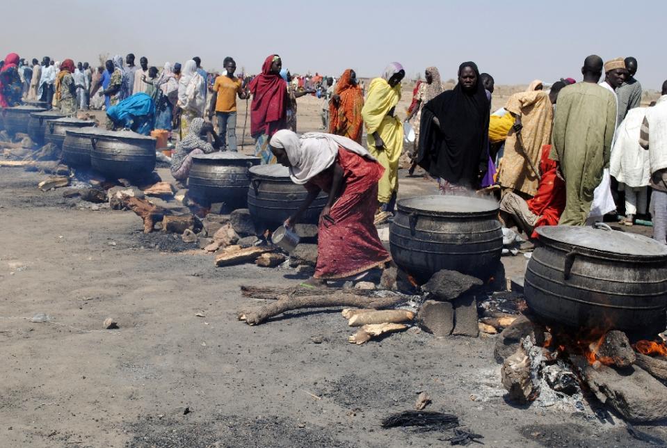 boko haram displaced victims at dikwa