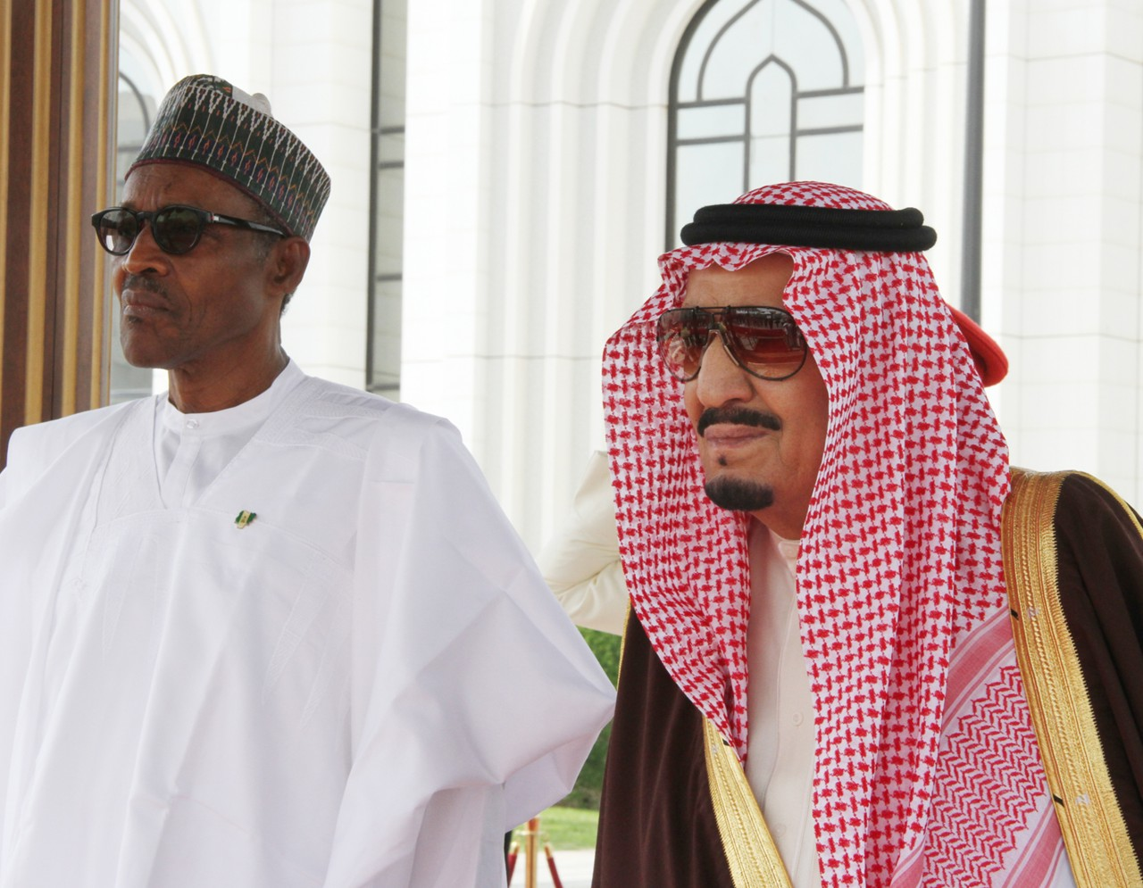 buhari in saudi 3