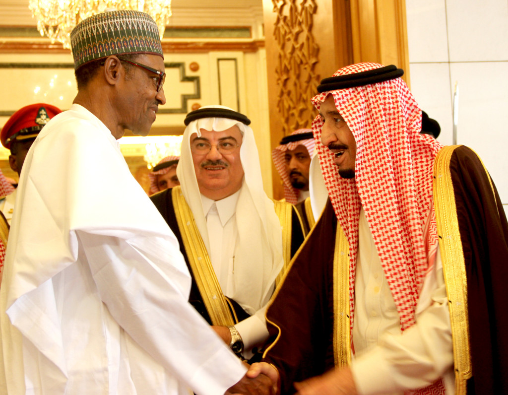 buhari in saudi 7