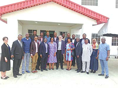 Participants at the meeting of stakeholders on the analysis of data from the Research Study on Anti Retro Viral (ARV) Drug Resistance Strains, on Monday February 8, 2016. The meeting was organized by the Nigerian Institute of Medical Research (NIMR) Yaba, Lagos.