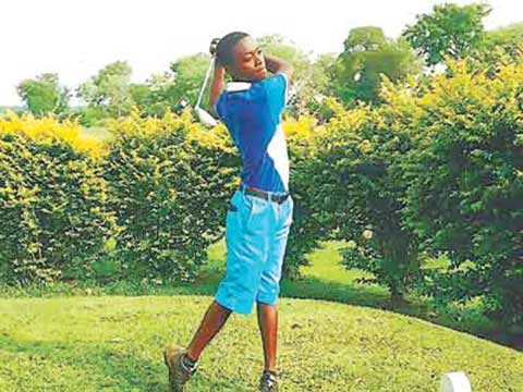 Odey Alechenu is one of the players billed to represent Nigeria at the African Junior Golf Challenge slated for Sousse, Tunisia… next week.