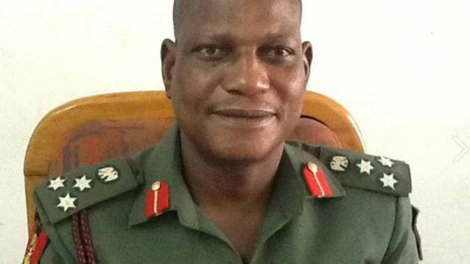 Brigadier-General Enitan Ransome-Kuti.