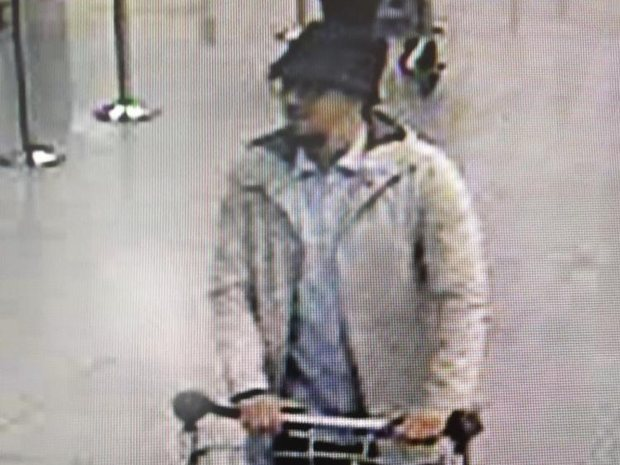 The suspect is believed to have escaped the airport. Photograph: HO/AFP/Getty Images