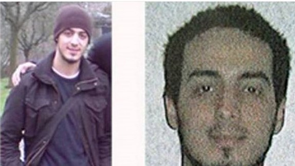 "This undated handout photo released on March 21, 2016 by the federal police on demand of Brussels' king prosecutor shows a combination of two pictures of Najim Laachraoui, 25 years old. Police is looking for Laachraoui as part of the investigation into the Paris terrorist attacks. Laachraoui, born on 18 May 1991, is using the alias Soufiane Kayal. Police have found his DNA on explosives used in last year's Paris attacks, a French source revealed. / AFP / BELGIAN FEDERAL POLICE / HO / RESTRICTED TO EDITORIAL USE - MANDATORY CREDIT ""AFP PHOTO /BELGIAN FEDERAL POLICE"" - NO MARKETING NO ADVERTISING CAMPAIGNS - DISTRIBUTED AS A SERVICE TO CLIENTS"