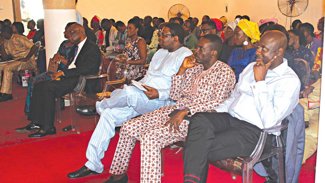 Ambassadors enlisted in the campaign to rid the nation of every form of corruption, during the inaugural service of Lekki branch of the Living Waters Unlimited Church (LWUC)… last Sunday.