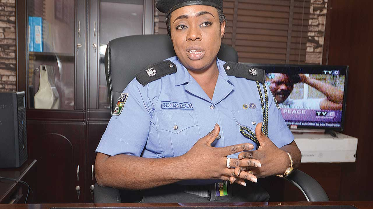 Lagos State Police Public Relations Officer, Superintendent of Police, Dolapo Badmos