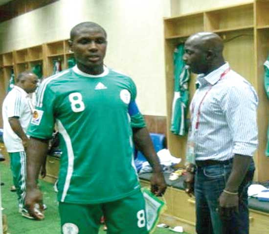 Where did we get it wrong….Super Eagles coach Samson Siasia seems to ask Watford striker, Odion Ighalo. The Eagles won't take part in the 2017 AFCON IN Gabon