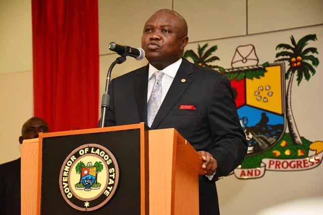 Akinwumi Ambode, Lagos State Governor.