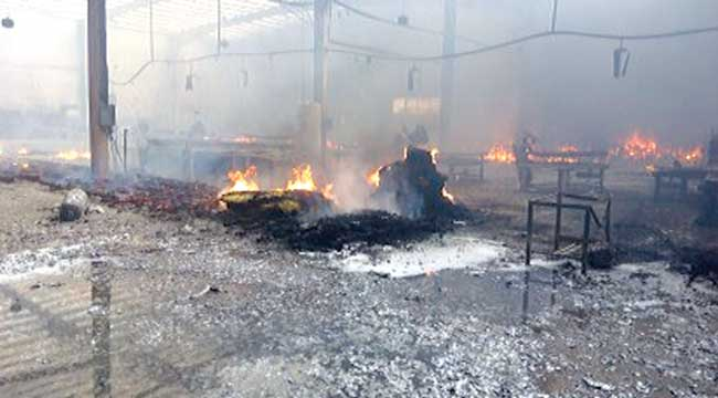 Burnt Sabon Gari Market ...on Saturday PHOTO: GOOGLE.COM