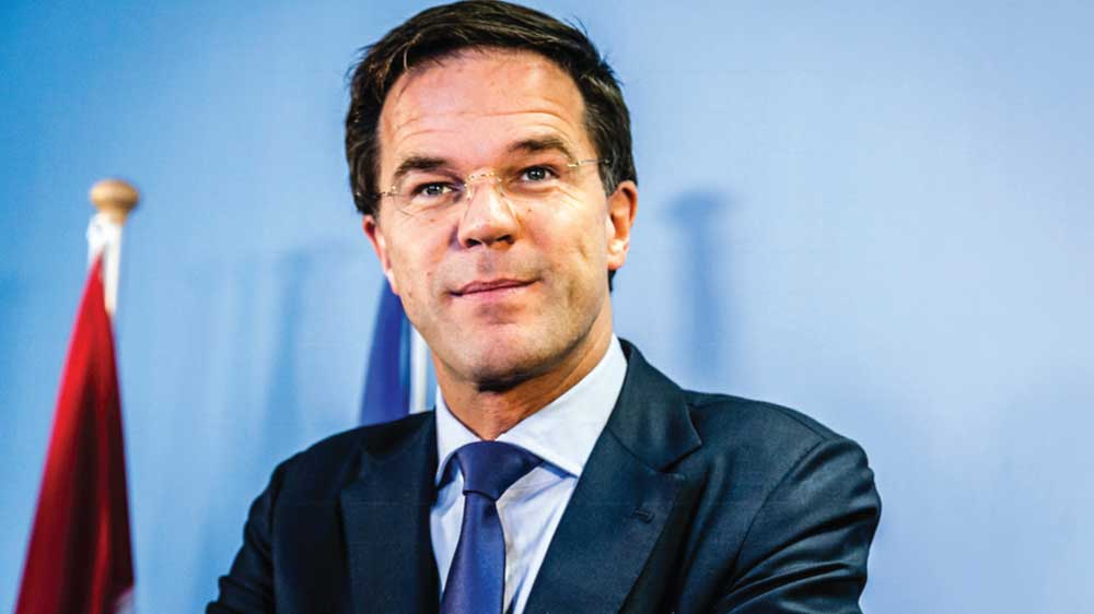 Mark Rutte,   the Prime Minister of the Netherlands, holds the Presidency of the Council of the European Union from January to June 2016.