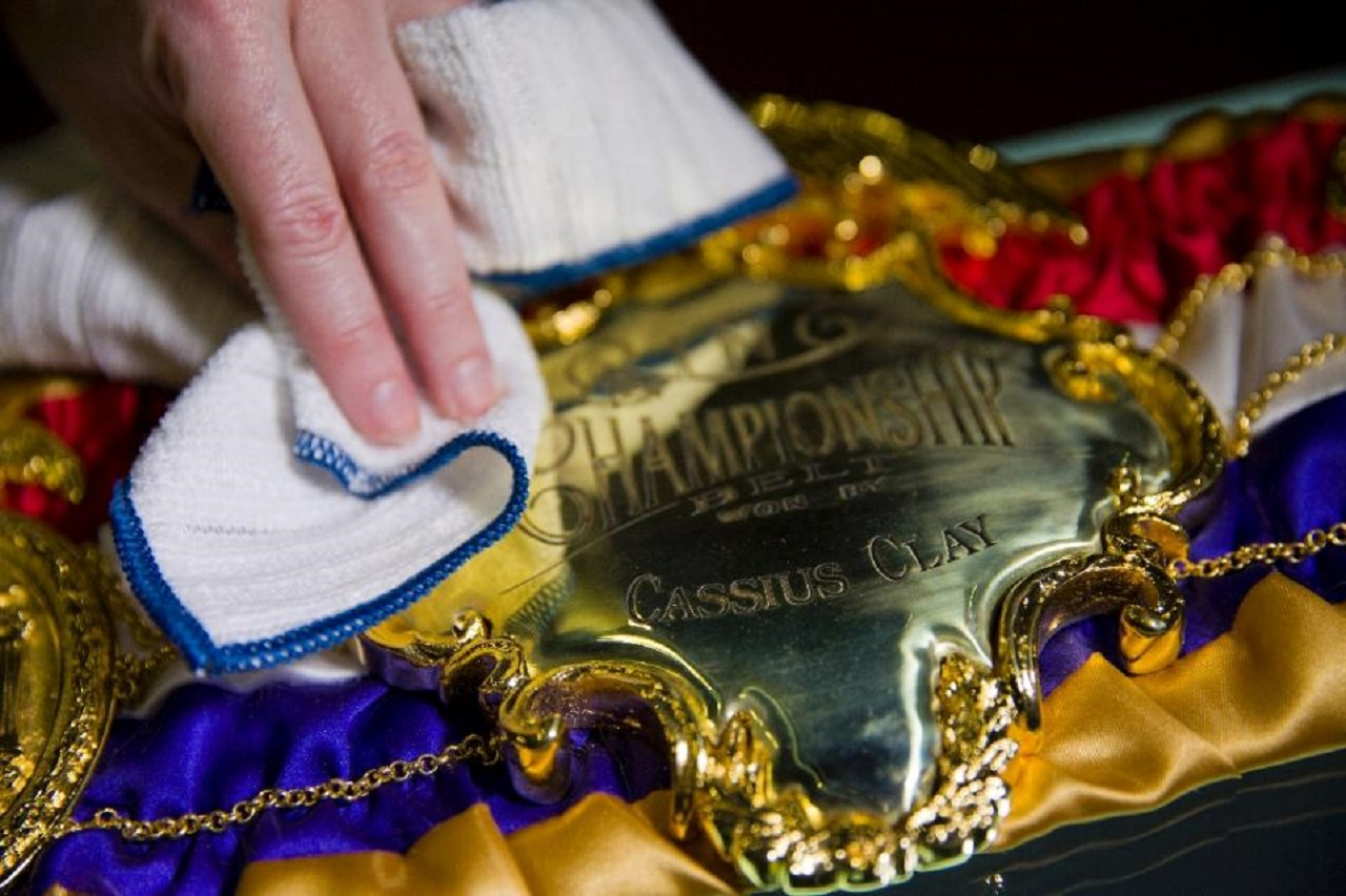 Muhammad Ali exhibition relic 1