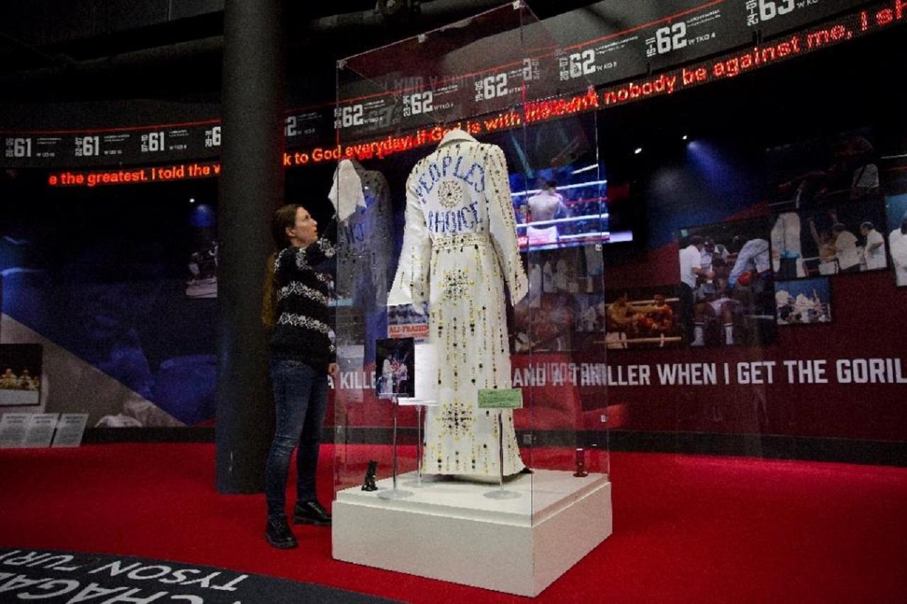 Muhammad Ali exhibition relic 3