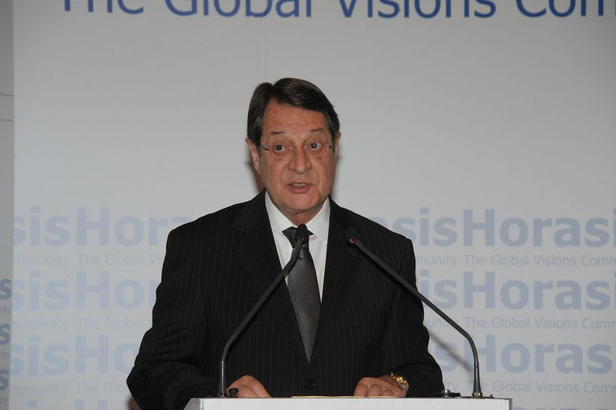 President vowing new peace push leads in Cyprus re-election bid