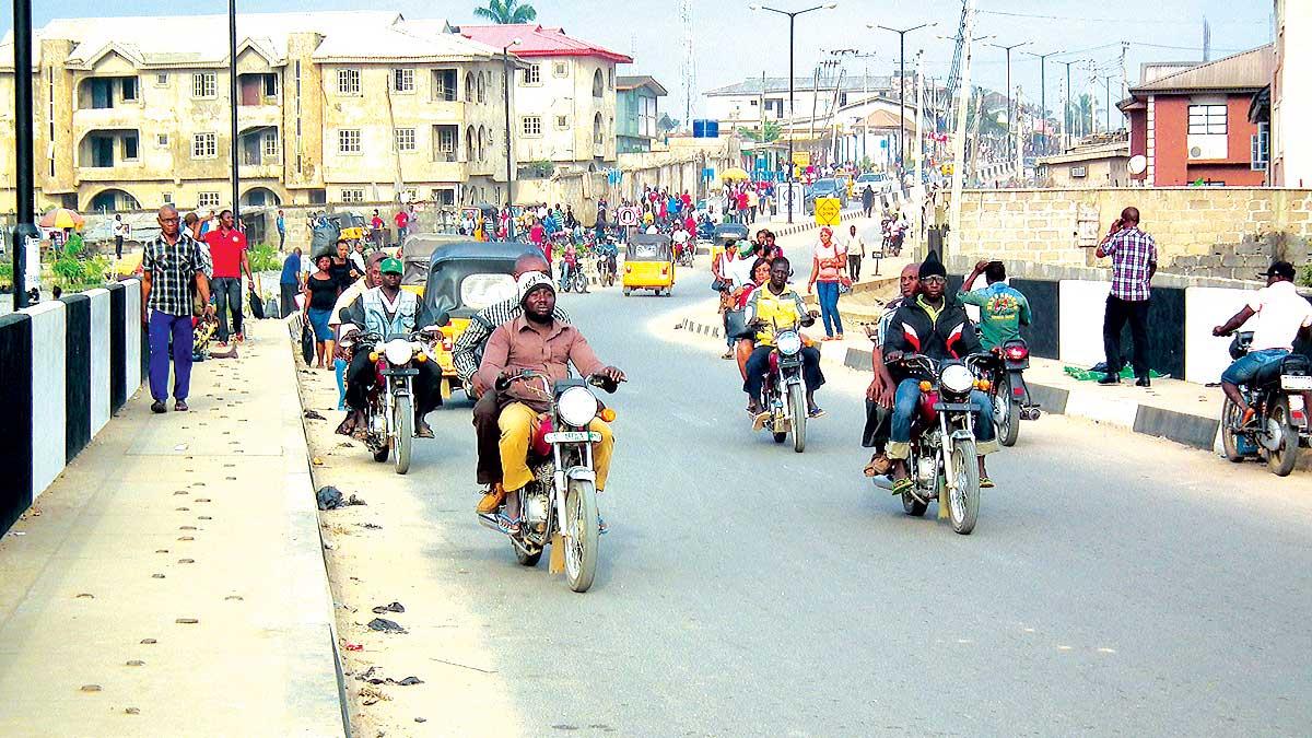 Okada riders FILE