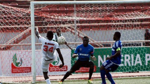 Akwa United in action against Ranger FC