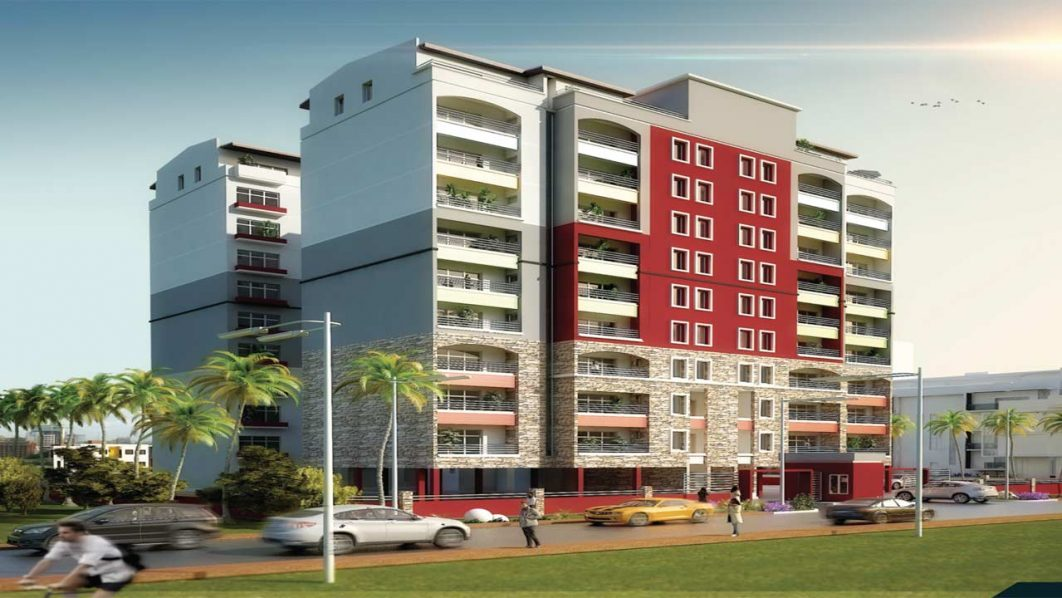 Illustration of the proposed Zeeks Pearl apartment, Apapa, Lagos