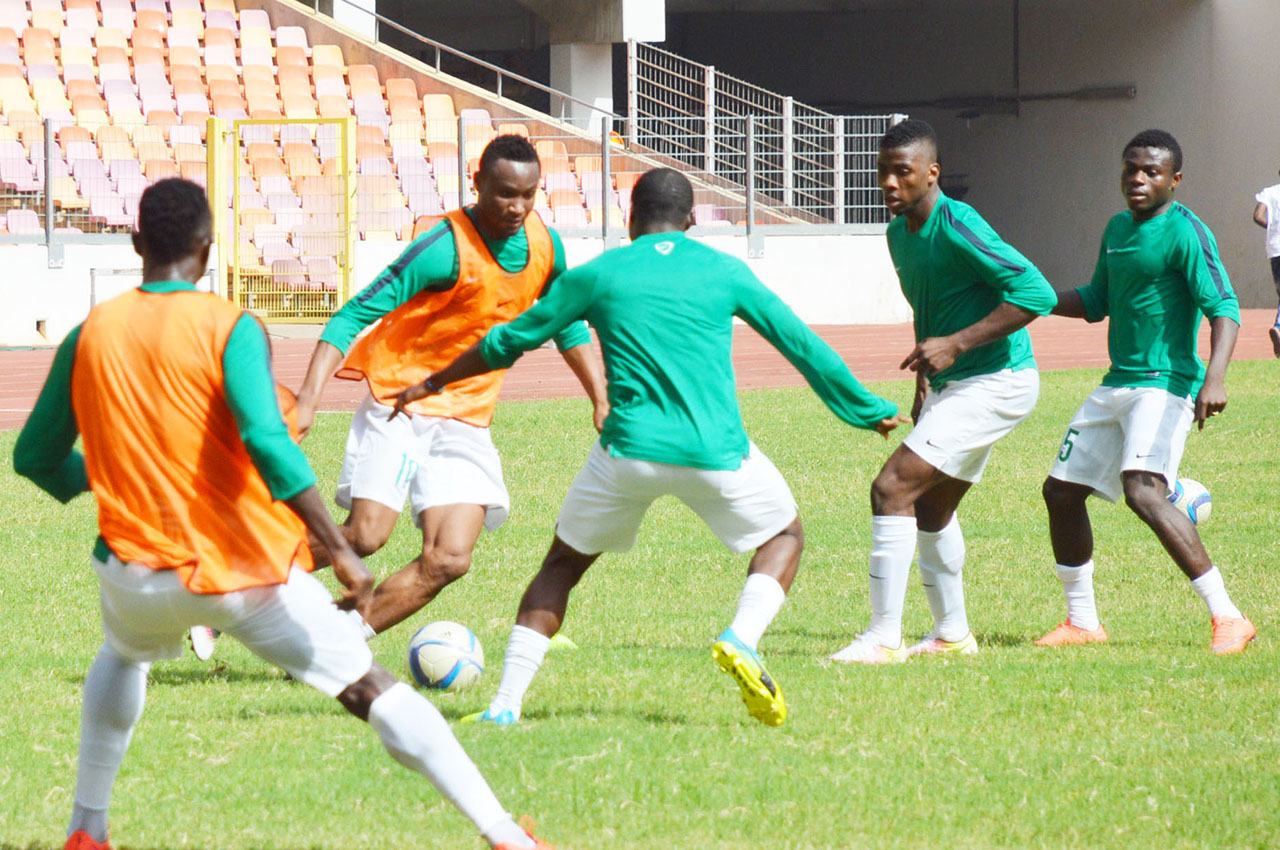 Super eagles training 1