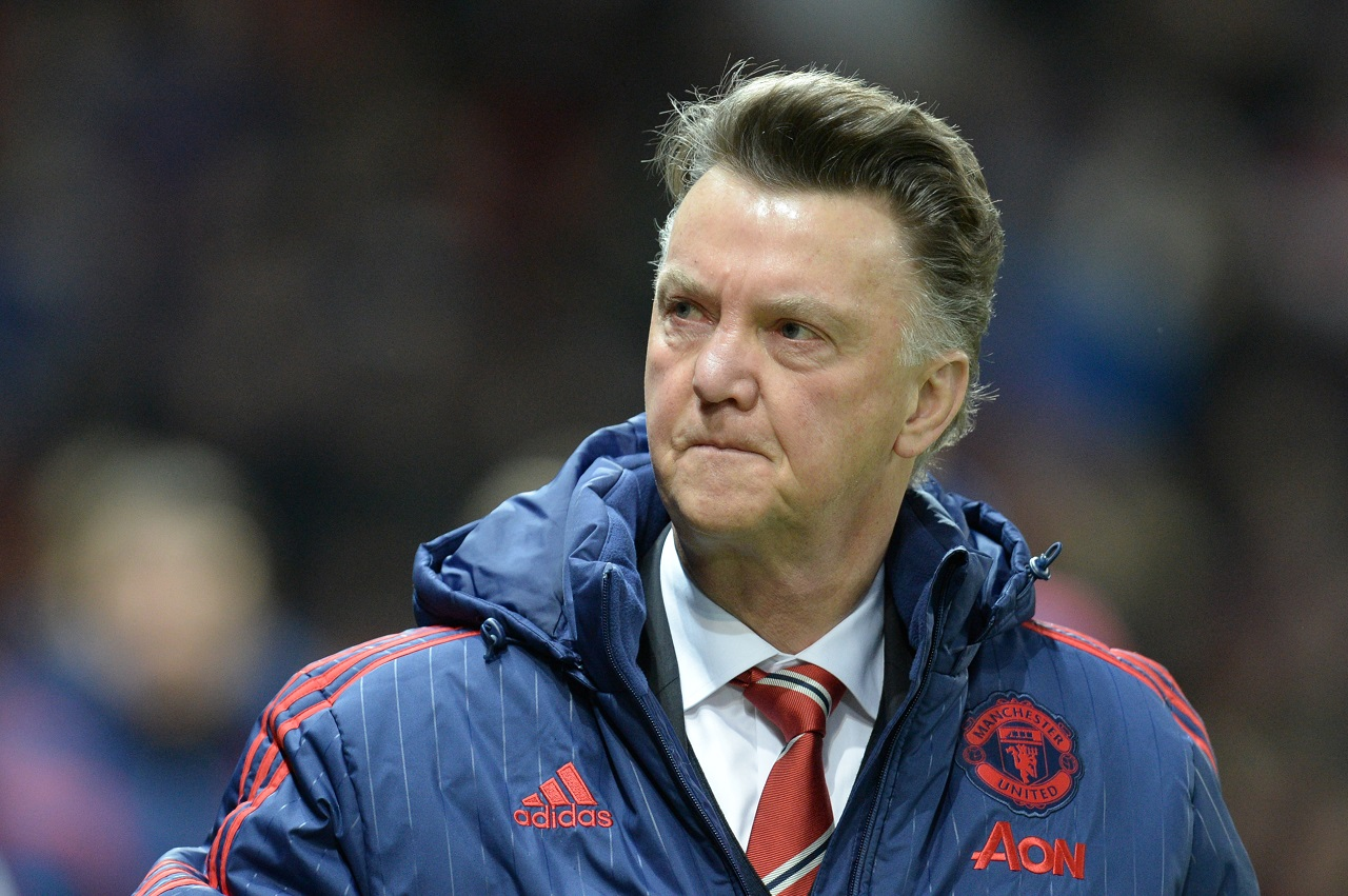 Manchester United's Dutch manager Louis van Gaal arrives for the English Premier League football match between Manchester United and Watford at Old Trafford in Manchester in north west England on March 2, 2016. / AFP / OLI SCARFF /