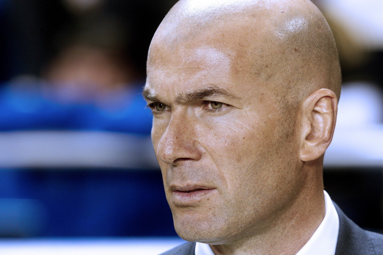 Real Madrid's French coach Zinedine Zidane. / AFP / Jose Jordan
