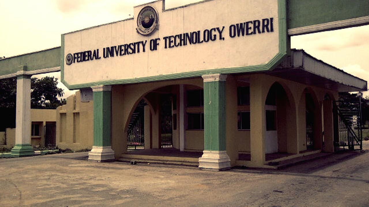 Main Entrance, Federal University of Technology, Owerri (FUTO). Photo: Guardian