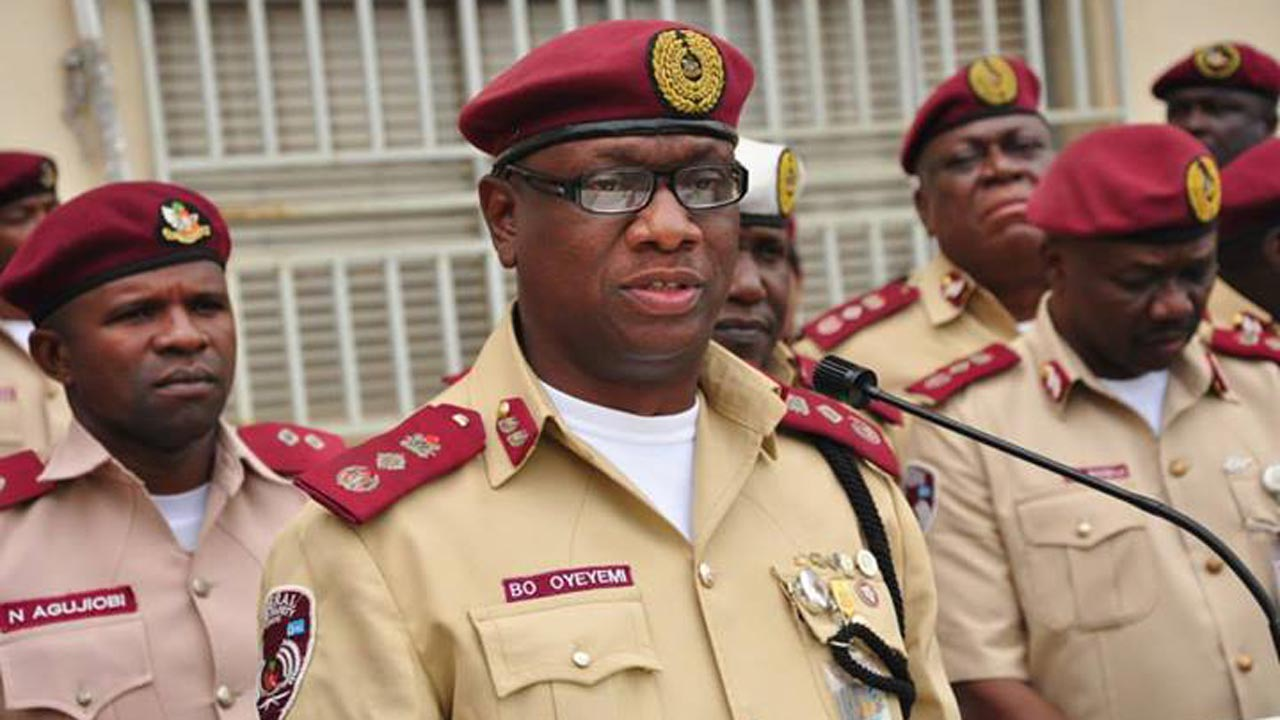 FRSC Booss, Boboye Oyeyemi PHOTO: nigeriannewsservice.com