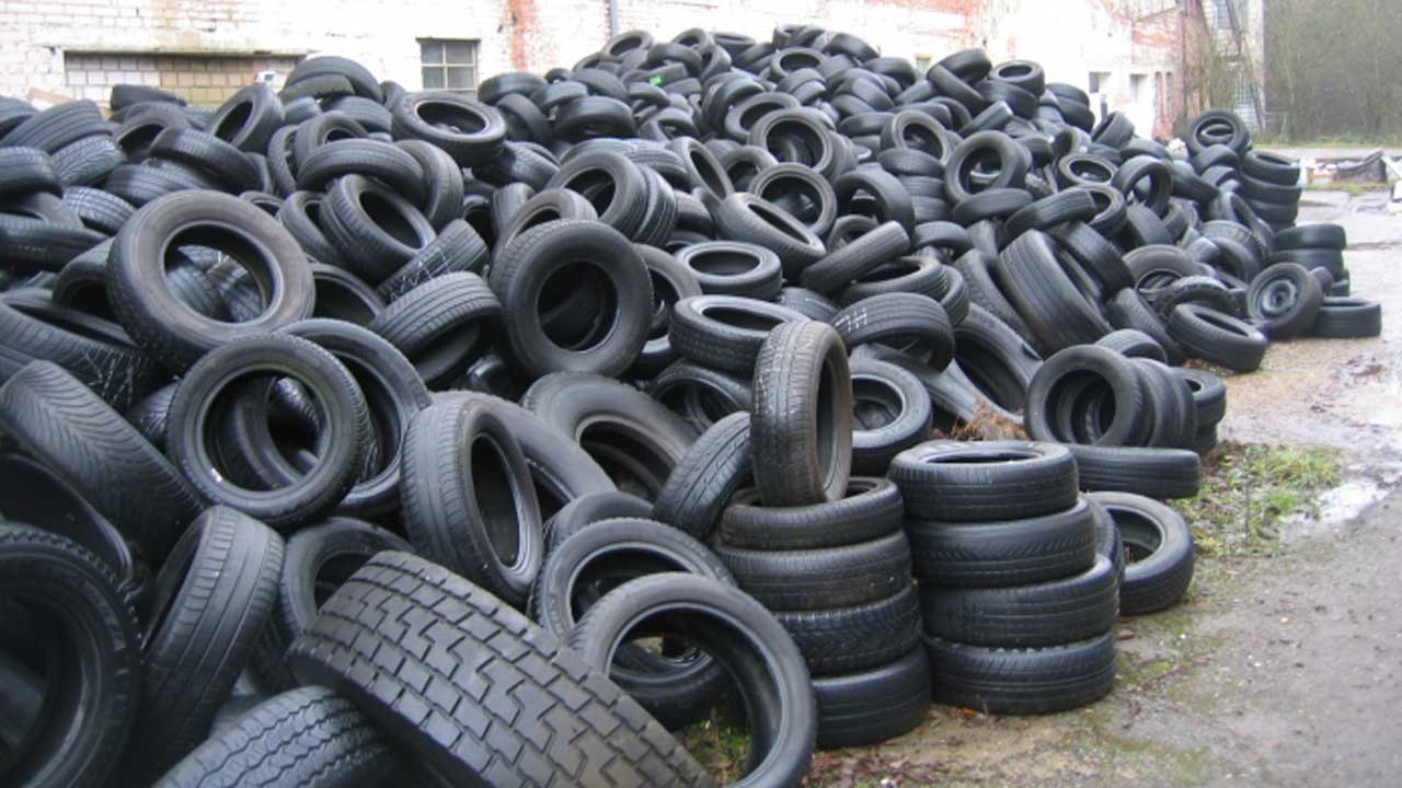 Fairly used tyres up for sale