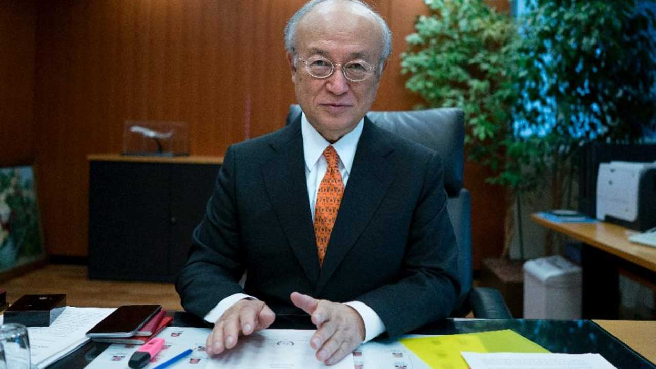 International Atomic Energy Agency (IAEA) chief Yukiya Amano says the possibility of a nuclear terror attack cannot be ruled out (AFP Photo/Joe Klamar)