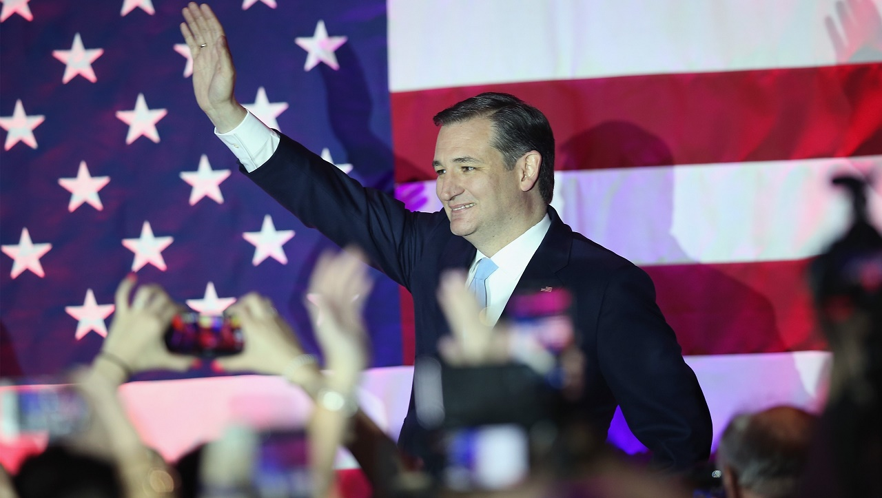 Republican presidential candidate Sen. Ted Cruz Scott Olson/Getty Images/AFP