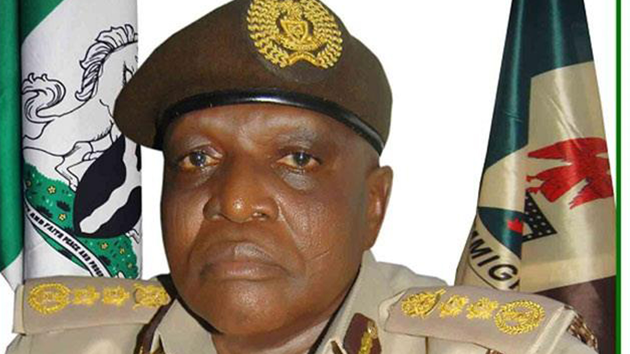 The Comptroller General of the Nigerian Immigration Service (NIS) Martins Kure Abeshi