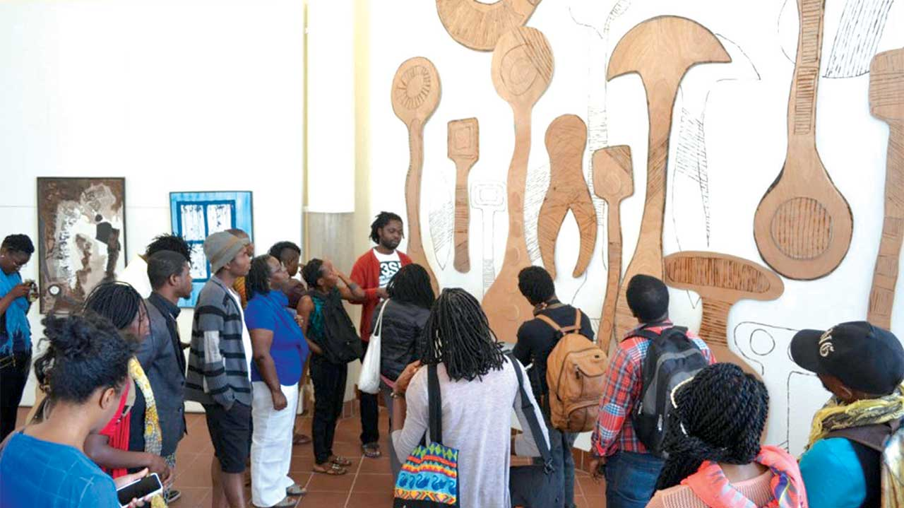Participants at Asiko 2015, in Maputo
