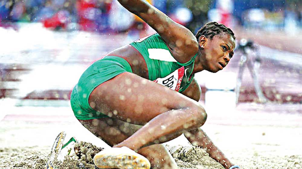 Long jumper, Ese Brume is hoping to be part of the Rio Olympics. Coach Seigha Porbeni, who has quit Team Nigeria's camp says unless something is done fast, the country might just make up the number like it happened at London 2012.