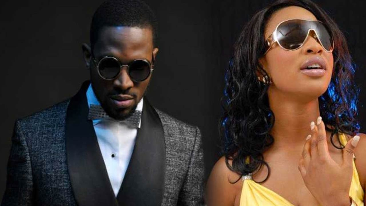 D'Banj and Tonto Dikeh in a new photo