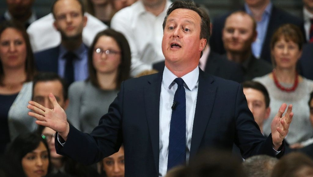Britain's Prime Minister David Cameron (AFP Photo/Christopher Furlong)