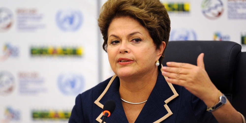 President Dilma Rousseff of Brazil.