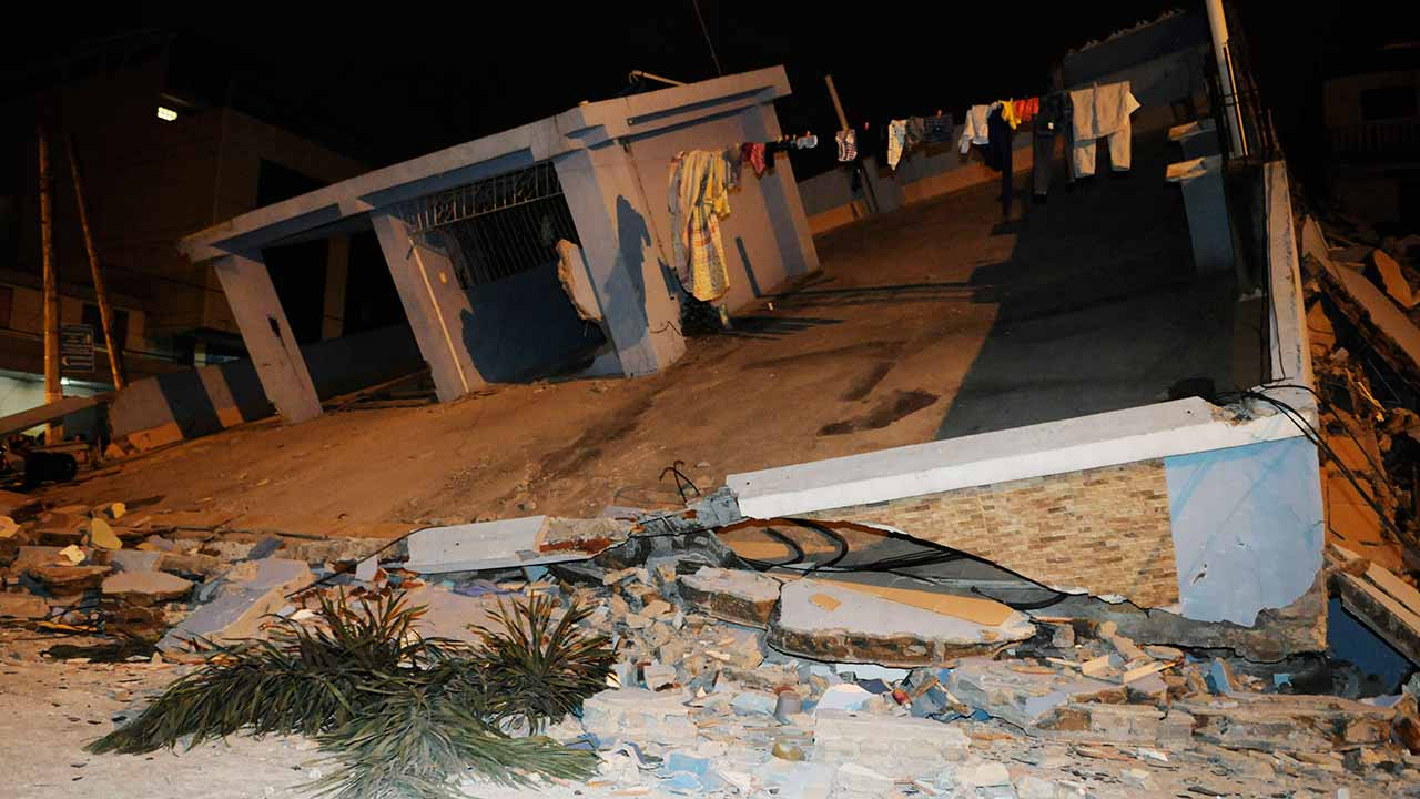 Ecuador quake\AFP