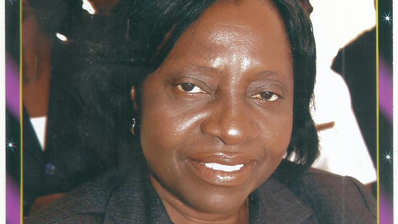 Dr. Margaret Dolapo Ekiran, Head of Department, Nursing Science, College of Medicine, University of Lagos.