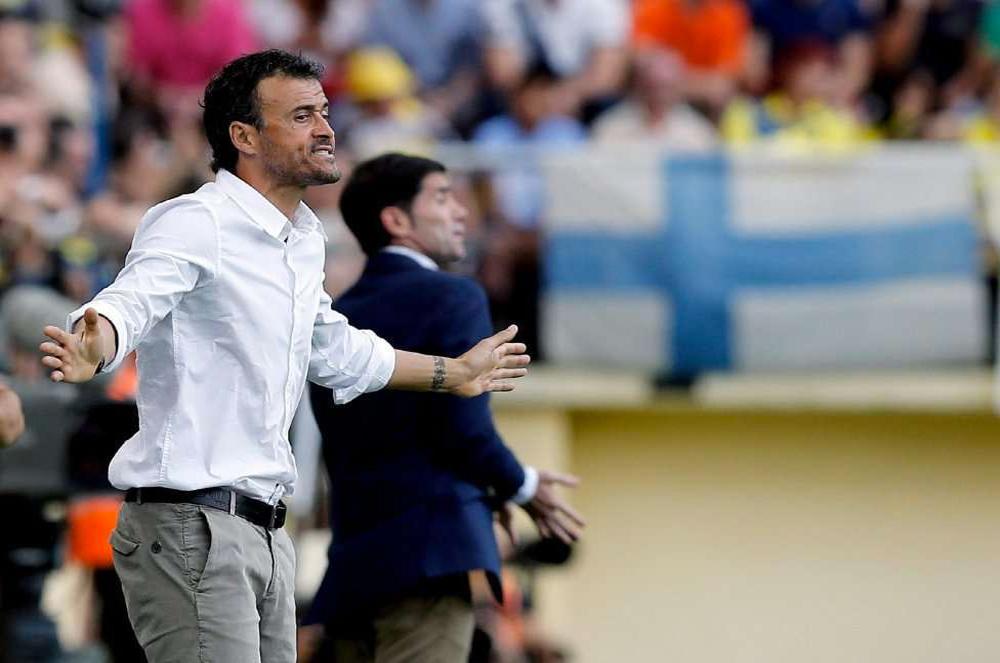 Barcelona coach, Luis Enrique